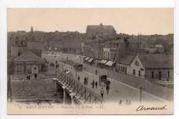 - CPA SAINT-QUENTIN (02) - Panorama Pris Du Pont 1903 (avec Personnages) - Editions Lévy N° 25 - - Saint Quentin