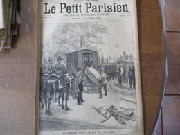 LE PETIT PARISIEN DU 3 JUIN 1894 AU CIMETIERE D'IVRY-LE COIN DES SUPPLICIES,LES PETITS DENICHEURS D'OISEAUX DANS LES FOR - 1850 - 1899