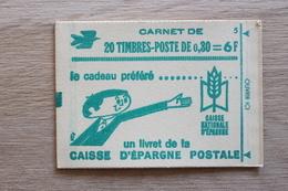 20 Timbres 6 F Livret Caisse D'épargne 1536 A - Carnets