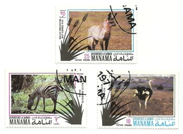 1971 - Manama 45 Animali C4764 - Francobolli