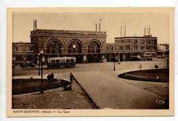 - CPA SAINT-QUENTIN (02) - La Gare 1937 - Photo CIM - - Saint Quentin
