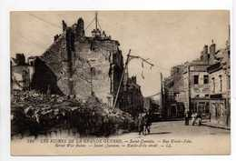 - CPA SAINT-QUENTIN (02) - Rue Emile-Zola (avec Personnages) - Editions Lévy 520 - - Saint Quentin