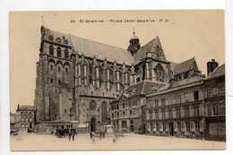 - CPA SAINT-QUENTIN (02) - Place Saint-Quentin - Edition P. D. N° 80 - - Saint Quentin