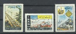 IRAN YVERT 886/888  MH  * - Irán