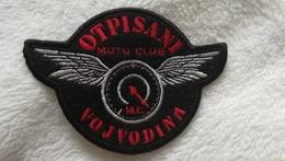 OTPISANI SERBIA EX YUGOSLAVIA MOTOR MOTORCYCLE PATCH EMBLEM Motorräder FLICKEN Piece PATCH DE MOTEUR - Motos