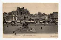 - CPA SAINT-QUENTIN (02) - La Place Et La Basilique - Editions Lévy N° 4 - - Saint Quentin