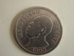 50 CENTIMES 1908. - Haiti