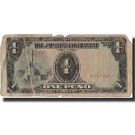 Billet, Philippines, 1 Peso, Undated (1942), KM:106a, B - Philippines