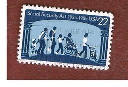 STATI UNITI (U.S.A.) - SG 2191 - 1985 SOCIAL SECURITY ACT  - USED - Stati Uniti