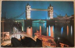 London Tower Bridge River Thames By Night - Ver. Königreich
