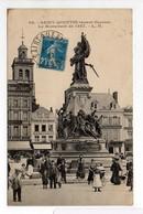 - CPA SAINT-QUENTIN (02) - Le Monument De 1557 (belle Animation) - Edition L. D. N° 98 - - Saint Quentin
