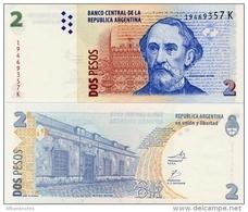 ARGENTINA    2 Pesos    P-352    ND (2002)    UNC  [sign. Marcó-Fellner] - Argentina