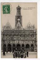 - CPA SAINT-QUENTIN (02) - L'Hôtel De Ville 1908 (avec Personnages) - Edition C.L.P. N° 1 - - Saint Quentin