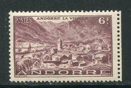 ANDORRE- Y&T N°125- Neuf Avec Charnière * - Neufs