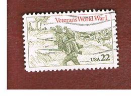 STATI UNITI (U.S.A.) - SG 2193 - 1985 WORLD WAR I VETERANS  - USED - Usati