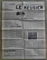 55 BAR LE DUC  Journal LE MEUSIEN 1950 Commercy St Mihiel Etain Verdun.... - Journaux - Quotidiens