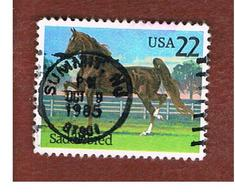 STATI UNITI (U.S.A.) - SG 2196 - 1985 HORSES: EQUUS FERUS CABALLUS  - USED - Stati Uniti