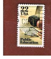 STATI UNITI (U.S.A.) - SG 2198 - 1985  PUBLIC EDUCATION - USED - Stati Uniti