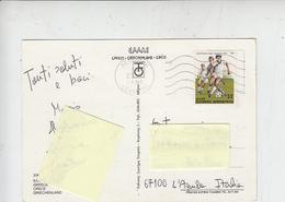 GRECIA  1986 - Unificato  1603 - Sport - Calcio - Cartas