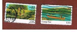 STATI UNITI (U.S.A.) - SG 2200.2202  - 1985  INT.  YOUTH YEAR - USED - Stati Uniti