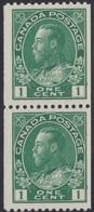 Canada  .  Scott     .      131 Pair       .      **       .  MNH    .   /    .  Postfris - 1911-1935 Regering Van George V