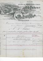 KITZINGEN   F.S.  FEHRER Filature - Petits Métiers