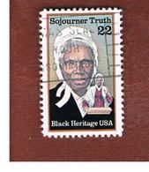 STATI UNITI (U.S.A.) - SG 2214  - 1986 BLACK HERITAGE: S. TRUTH - USED - Stati Uniti
