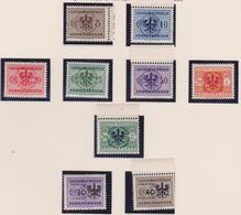 Occ. Tedesca Lubiana 1944 - Segnatasse 1/9 MNH - Occup. Tedesca: Lubiana