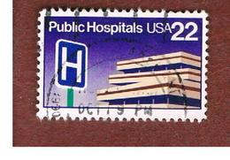 STATI UNITI (U.S.A.) - SG 2221  - 1986 PUBLIC HOSPITALS  - USED - Stati Uniti
