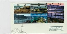 New Zealand - 2019 - Lighthouse Perspectives S/S MNH(**) - Phares