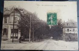 """Cpa - 74 - Anemasse - Avenue De La Gare """"éd Savoisienne"""" - Annemasse"""
