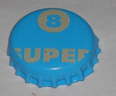 CAPSULE DE LE  BIÉRE  SUPER 8 - Bière