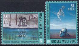 UNO WIEN 2000 Mi-Nr. 307/08 ** MNH - Wien - Internationales Zentrum