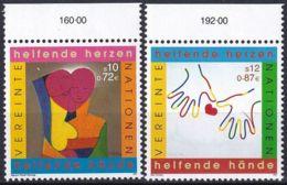 UNO WIEN 2001 Mi-Nr. 331/32 ** MNH - Wien - Internationales Zentrum