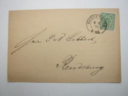 1879 , SONDERBURG , Klarer Stempel Auf Karte - Schleswig-Holstein