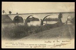 Carte Précurseur - Limeuil - Le Pont Sur La Vézère à Sa Jonction Avec La Dordogne - Sonstige Gemeinden