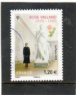 FRANCE  1,20 €    2018  Rose Valland  Oblitéré - France