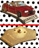 Arthus Bertrand : Automobile RENAULT 19 Cabriolet Rouge - Arthus Bertrand