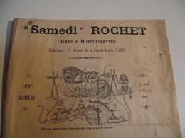 Samedi Rochet Cycles Et Motocycles, Revue 1907 - Journaux - Quotidiens