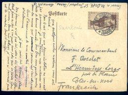 Cpa Allemagne Saarlouis Sarre Entier Postal   ACH9 - Kreis Saarlouis