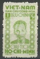 Vietnam - 1946 Ho Chi Minh 1h Unused No Gum (as Issued)   Sc 1L57 - Vietnam