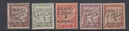 GRAND LIBAN        N°  YVERT  :   TAXE 1/5  NEUF AVEC  CHARNIERES      ( Ch  2/04  ) - Portomarken