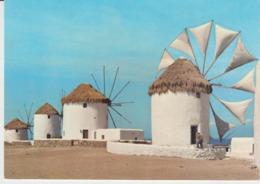 Mykonos Windmill Unused - Moulins à Vent