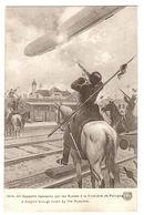 MILITARIA - 1914 - Un Zeppelin Descendu Par Les Russes à La Frontière De Pologne - Guerre 1914-18