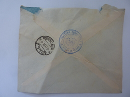 "Busta Viaggiata ""ESATTORIA CONSORZIALE DI S. GIORGIO NOGARO - JUTIFICI RIUNITI AULLA"" 1934 - 1900-44 Vittorio Emanuele III"