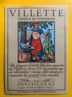 10143 - Villette Réserve Du Forgeron Suisse - Etiquettes