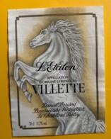 10144 - Villette L'Etalon Daniel Parisod Suisse - Etiquettes