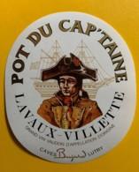 10147 - Villette Pot Du Cap'taine Suisse - Etiquettes