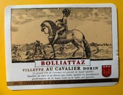 10148 - Villette Bolliattaz Au Cavalier Suisse - Etiquettes