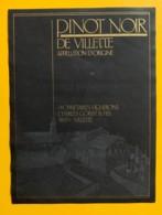 10151- Villette Pinot Noir Charles Gorjat Suisse - Etiquettes